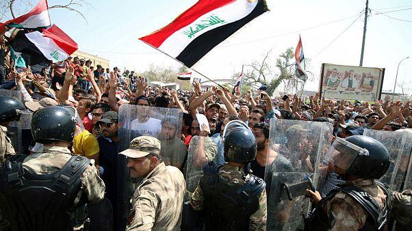 اعتراضات جنوب عراق