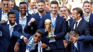 Президентский приём чемпионов