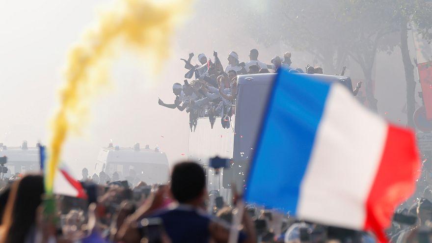 """""""On est champions !"""" Les insolites de la fête"""