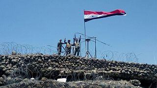 Сирийская армия приближается к Голанам