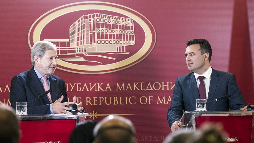 Γιοχάνες Χαν: Ανοικτή για την πΓΔΜ η πόρτα της ΕΕ