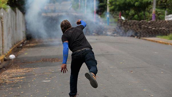Regierungsgegner in der Oppositionshochburg Monimbo