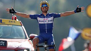 تور دو فرانس؛ نخستین پیروزی مرحلهای برای رکابزنان فرانسوی در کوهستان