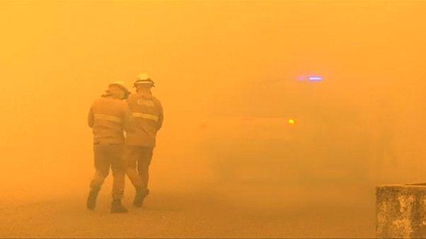 Portugal enfrenta menos incêndios