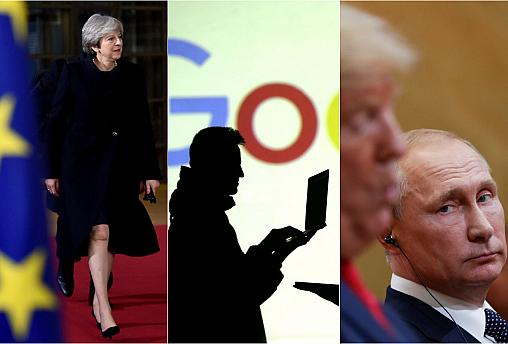 Live updates: Brexit turmoil, Google fine and Trump's u-turn