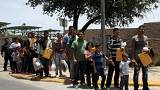 Undocumented immigrant families in McAllen, Texas, U.S., July 4, 2018
