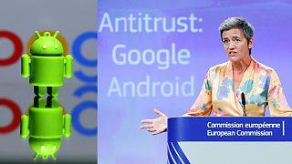 أوروبا تفرض غرامة 4.3 مليار يورو على غوغل بسبب الاحتكار