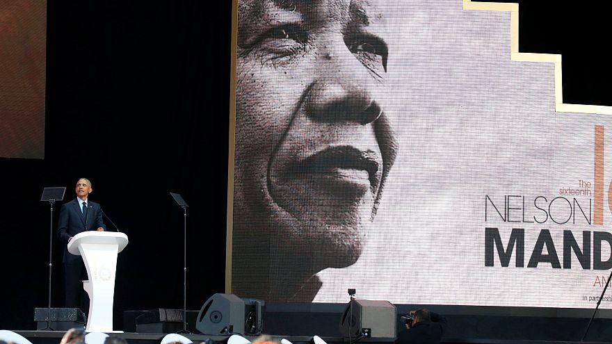 Quand Barack Obama salue la diversité des Bleus en hommage au combat de Mandela