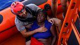 مرگ دو پناهجو از جمله یک کودک در آبهای مدیترانه