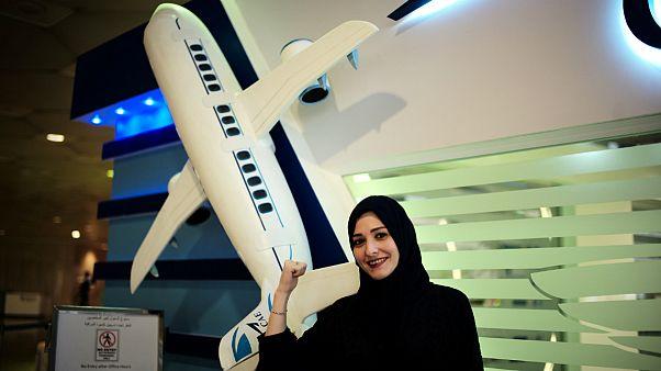 زنان عربستان آموزش خلبانی میبینند
