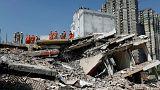 دستکم دو کشته بر اثر ریزش ساختمان در حاشیه دهلی نو