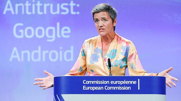 La UE impone una multa histórica de 4.343 millones a Google