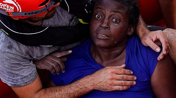 Woman the sole survivor after migrant trio 'abandoned' in Mediterranean