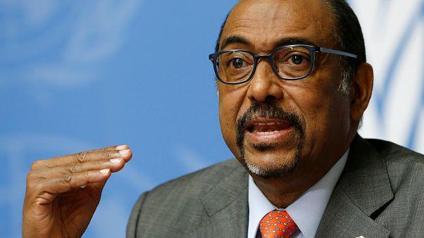 Le directeur exécutif de l'ONUSIDA, le Malien Michel Sidibé