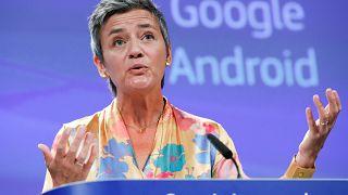 بیش از ۴ میلیارد یورو جریمه بی سابقه اتحادیه اروپا علیه گوگل