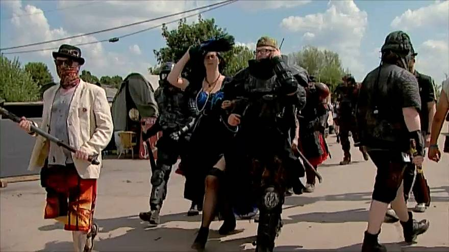 "Poland's post-apocalyptic ""Old Town"" festival"