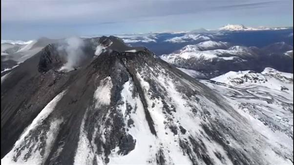Chile en alerta naranja por el volcán Chillán