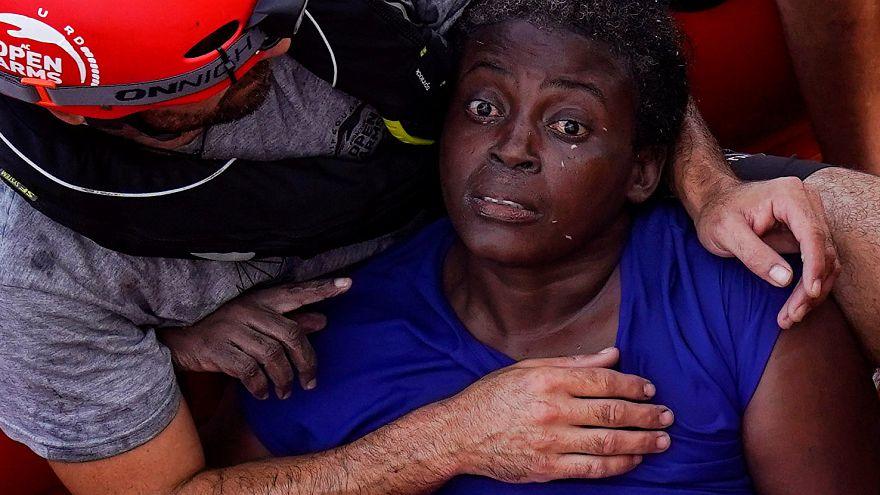 Esta es Josefa, única superviviente del último naufragio en Libia