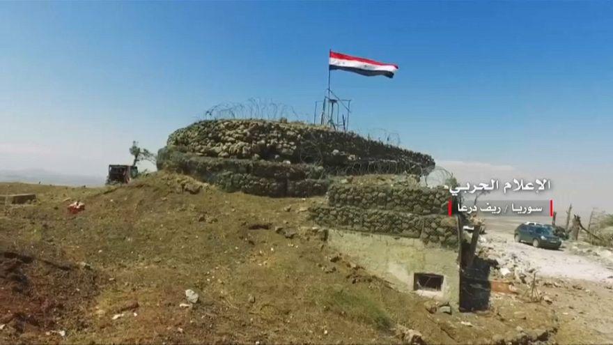Siria, esercito avanza a sud-ovest