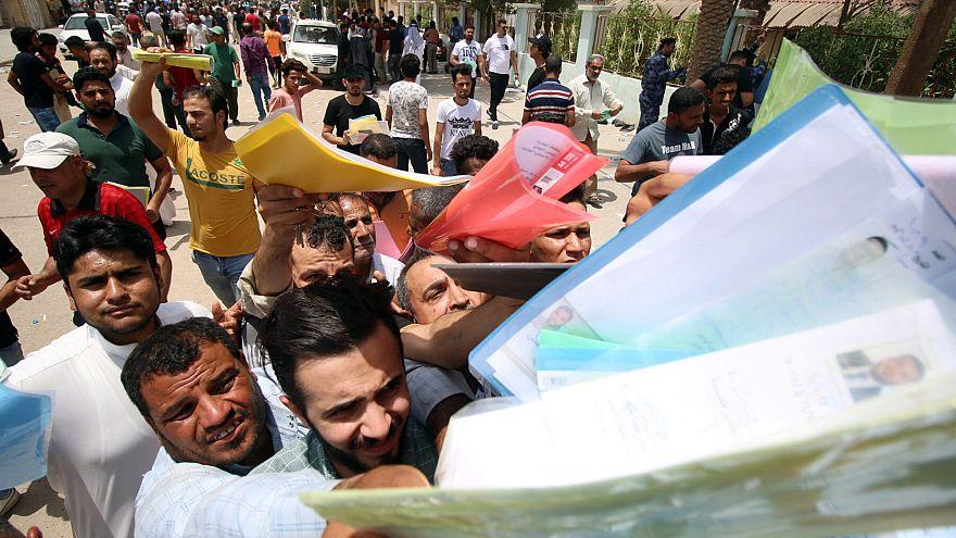 Reich an Öl, aber arm: Proteste im Südirak