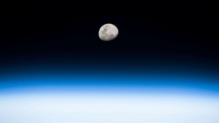 Symbolbild All: Bild vom Mond