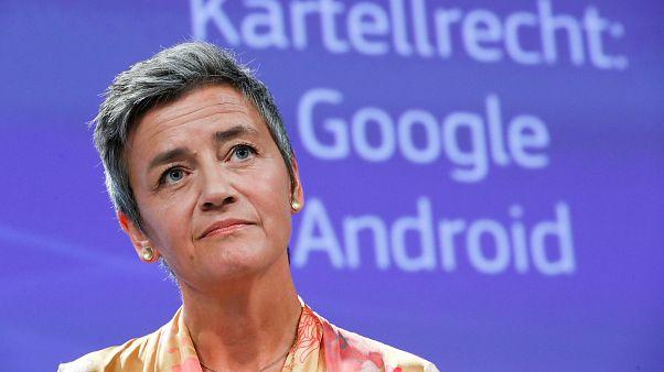La Commissaire européenne à la Concurrence Margrethe Vestager