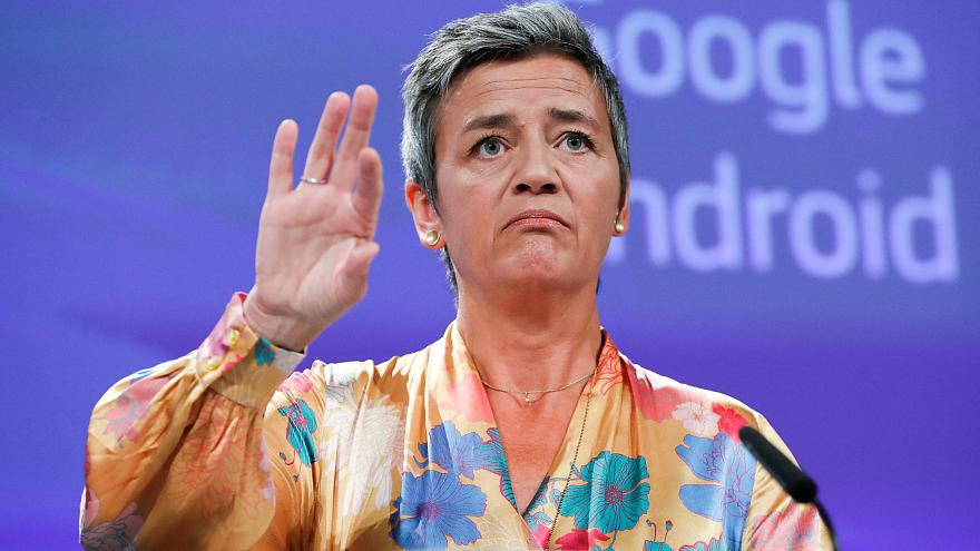 Bruselas impone una multa récord a Google
