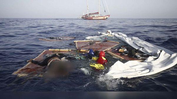 Rettungsaktion im Mittelmeer