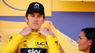 Geraint Thomas has grabbed yellow jersey after winning stage 11