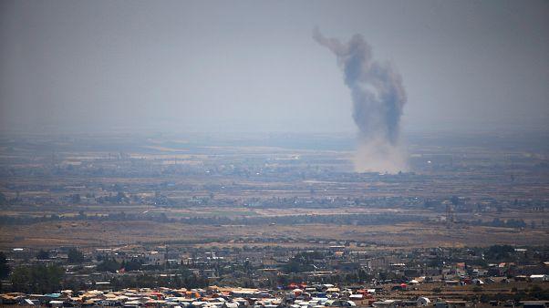 Наступление сирийской армии в Дераа