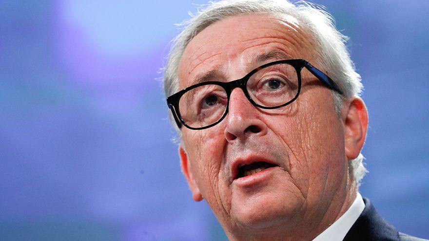 'I demand respect' says Juncker after stumbling incident