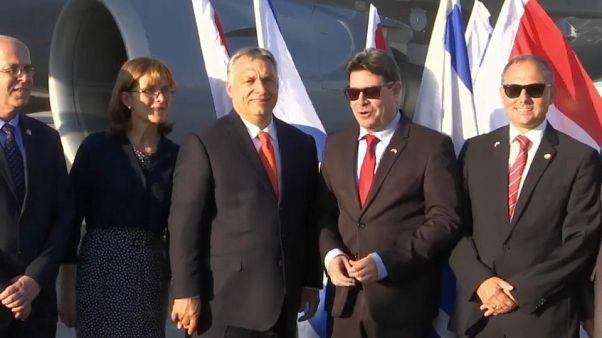 Kétnapos látogatást kezdett Izraelben Orbán Viktor
