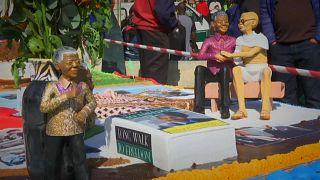 شاهد: 40 مدينة حول العالم تحيي مئوية ذكرى ميلاد نيلسون مانديلا