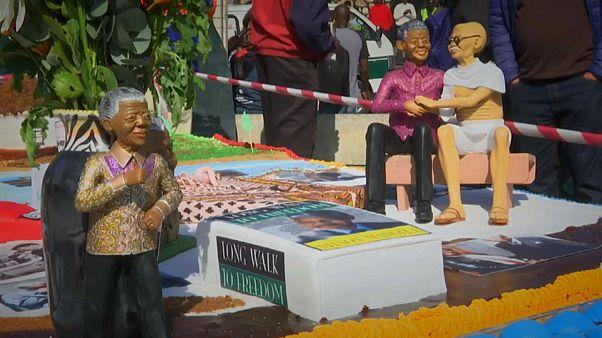 Мир отпраздновал 100-летие Манделы