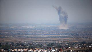 El gobierno sirio bombardea Nawa