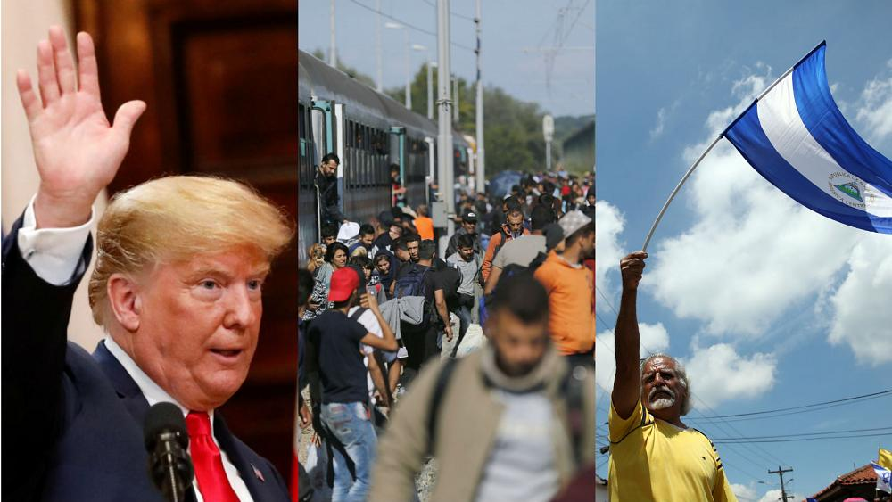 Live updates: Trump confusion, migration talks and Nicaragua's bloody anniversary