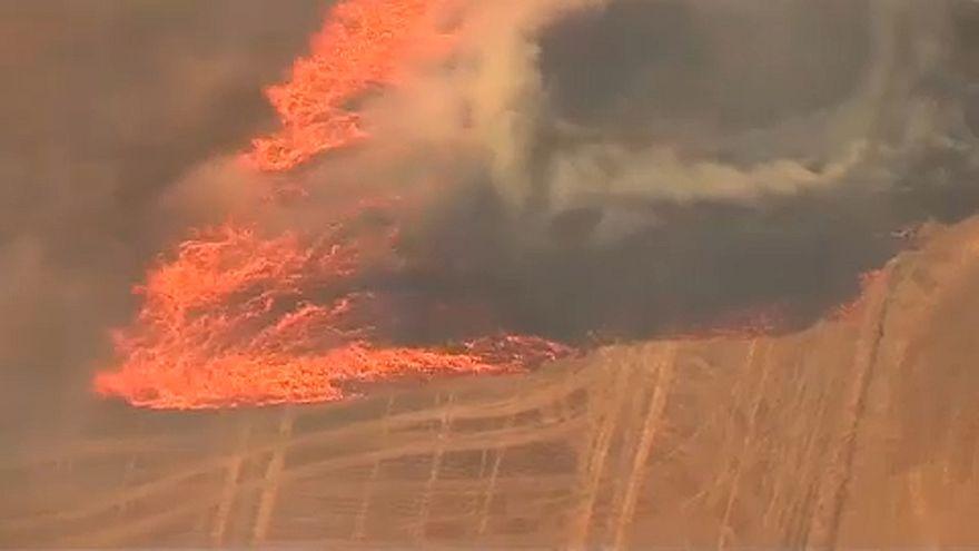 Halálos tűzvész tombol Oregonban