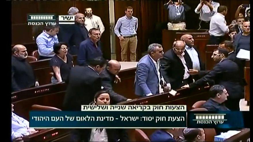 إسرائيل تقر قانون الدولة القومية والفلسطينيون يرفضونه ويصفونه بالعنصري