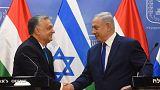 Orbánt Izrael védelmezőjeként üdvözölte Netanjahu