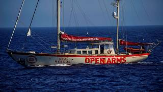'Open Arms' migrant rescue boat heads for Spain amid row with Italy