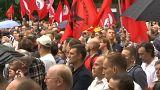 Länger arbeiten? Viele Russen gegen Rentenreform