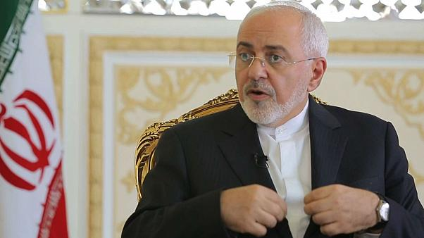 Russia can be transit point for international goods to Iran, Zarif tells Euronews