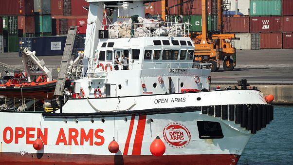 Open Arms chega sábado a Palma de Maiorca