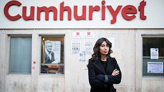 Cumhuriyet gazetesi muhabiri Canan Coşkun