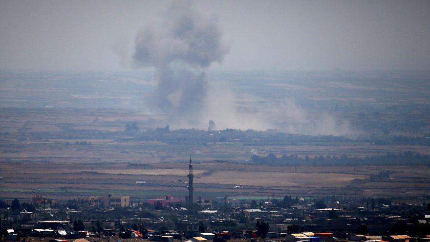 El régimen sirio combate para recuperar el control de la frontera con el Golán