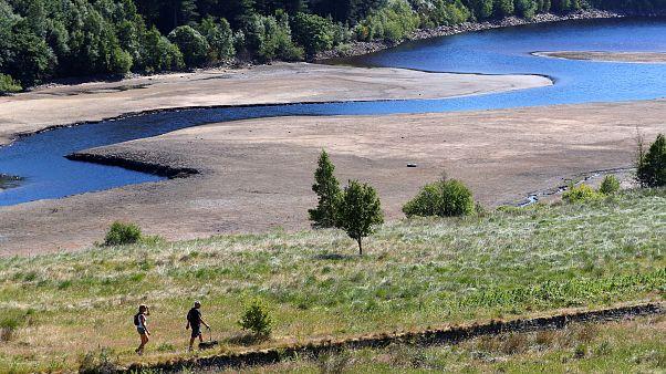 El norte de Europa se muere de sed y calor