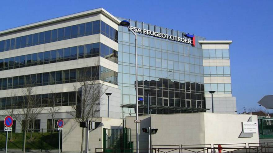 PSA Peuget-Citroën binası