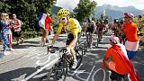 Tour de France: Geraint Thomas keeps the yellow jersey
