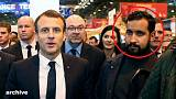 Francia escandalizada por el asistente de Macron que pegó a un manifestante