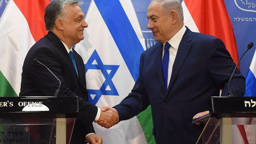 """Orbán, il """"vero amico di Israele"""", incontra Netanyahu"""